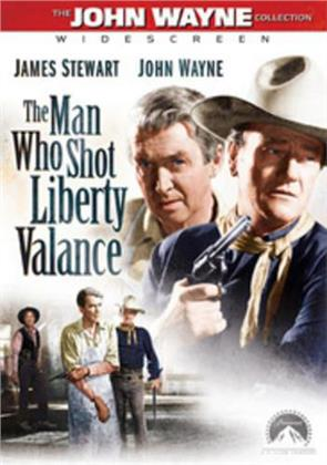 The Man Who Shot Liberty Valance (1962) (s/w)