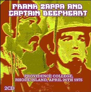 Frank Zappa & Captain Beefheart - Providence College, Rhode Island, April 26th 1975 (2 CDs)