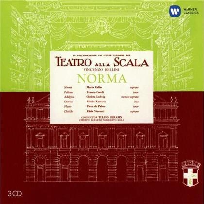 Christa Ludwig, Tullio Serafin, Vincenzo Bellini (1801-1835) & Maria Callas - Norma - Remastered 2014 (Remastered, 3 CDs)