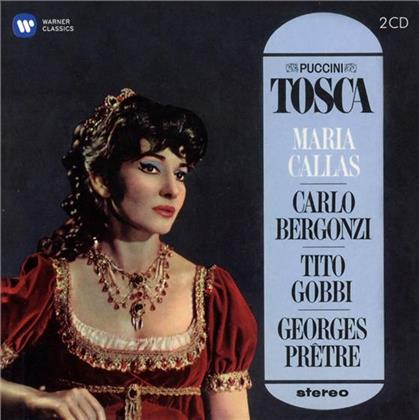 Tito Gobbi, Carlo Bergonzi, Giacomo Puccini (1858-1924), Georges Prêtre & Maria Callas - Tosca - Remastered 2014 (Remastered, 2 CDs)