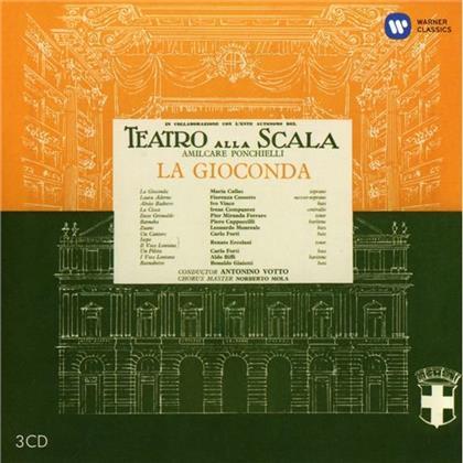 Cossotto, Cappuccilli, Votto, Amilcare Ponchielli (1834-1886) & Maria Callas - La Gioconda - Remastered 2014 (Remastered, 3 CDs)