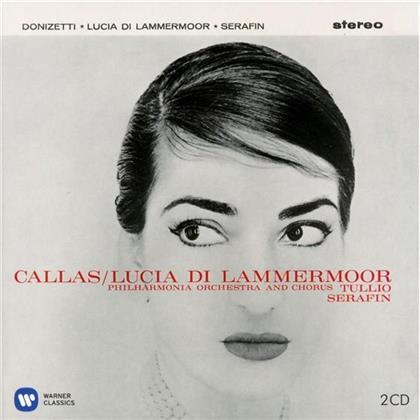 Tagliavini, Cappuccilli, Gaetano Donizetti (1797-1848), Tullio Serafin & Maria Callas - Lucia Di Lammermoor - Remastered 2014 (Remastered, 2 CDs)