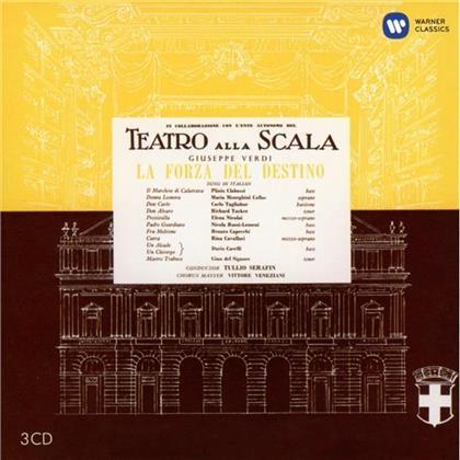 Tucker, Tagliabue, Giuseppe Verdi (1813-1901), Maria Callas & Orchestra Del Teatro Alla Scala Di Milano - La Forza Del Destino - Remastered 2014 (Remastered, 3 CDs)