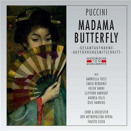 Giacomo Puccini (1858-1924), Gabriella Tucci, Carlo Bergonzi, Helen Vanni, Clifford Harvuot, … - Madama Butterfly (2 CDs)