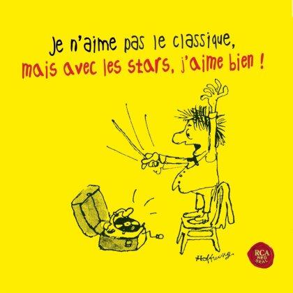 Divers & Various - Je N'aime Pas Le Classique, Mais Par Des Stars J'aime (4 CDs)