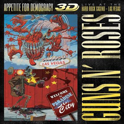 Guns N' Roses - Appetite For Democracy - Live - Boxset (2 CDs + Blu-ray)