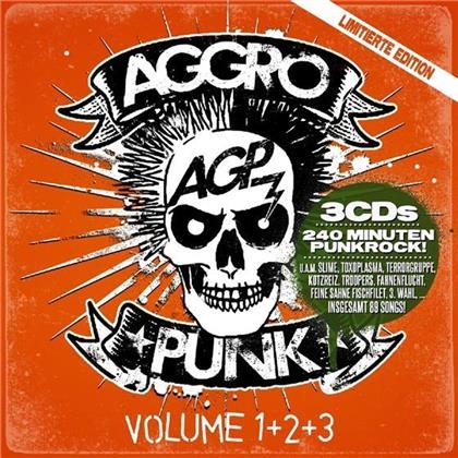 Aggropunk - Various 1+2+3 (Limitierte Edition, 3 CDs)