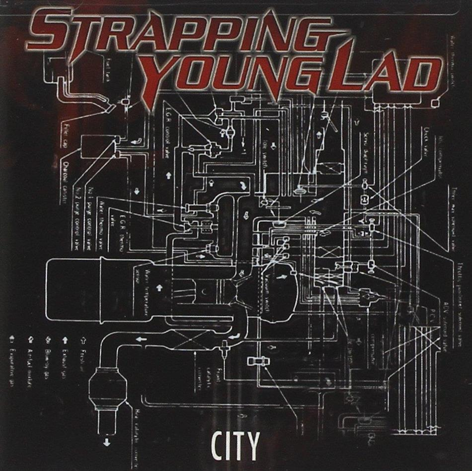 Strapping Young Lad - City - Us Re-Release (Remastered)