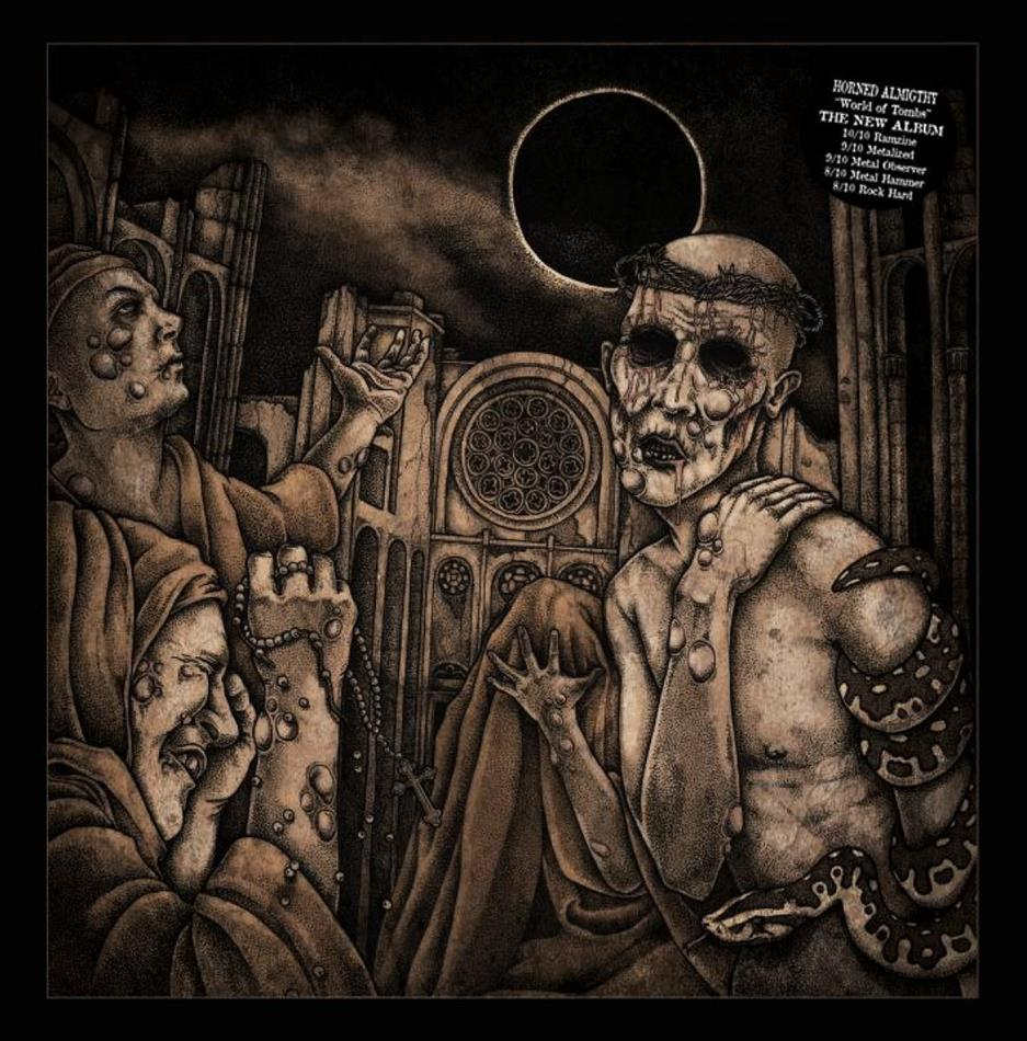 Horned Almighty - World Of Tombs (Limited Edition, LP)