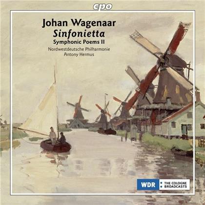 Johan Wagenaar, Antony Hermus & Nordwestdeutsceh Philharmonie - Symphonic Poems Vol. 2