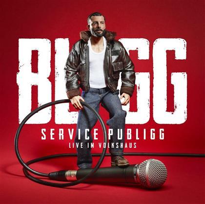 Bligg - Service Publigg Live Im Volkshaus (Platin Edition, 2 CDs + DVD)
