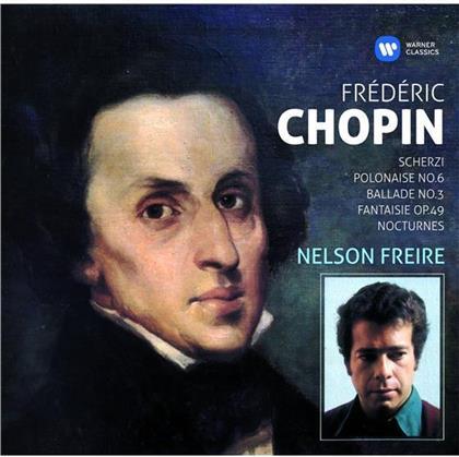 Frédéric Chopin (1810-1849) & Nelson Freire - Klavierwerke - Scherzi, Polonaise No.6, Ballade No. 3, Fantaisie Op. 49, Nocturnes (2 CDs)