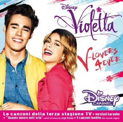 Violetta (Walt Disney) - V-Lovers 4ever (2 CDs)