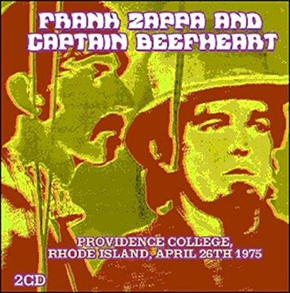 Frank Zappa & Captain Beefheart - Providence College, Rhode Island, April 26th 1975 (3 LPs)