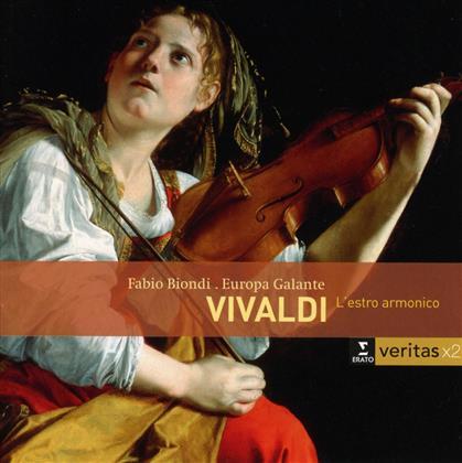 Fabio Biondi, Orchestra Europa Galante & Antonio Vivaldi (1678-1741) - L'estro Armonico (12konzerte Op.3) (2 CDs)