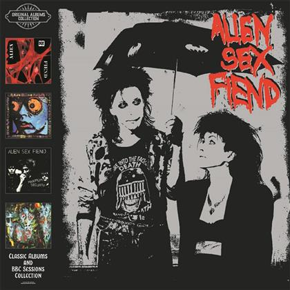 Alien Sex Fiend - Classic Albums & BBC Sessions Collections (4 CDs)