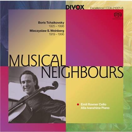 Mieczyslaw Weinberg (1919-1996), Peter Iljitsch Tschaikowsky (1840-1893), Emil Rovner & Alla Ivanzhina - Musical Neighbours (SACD)