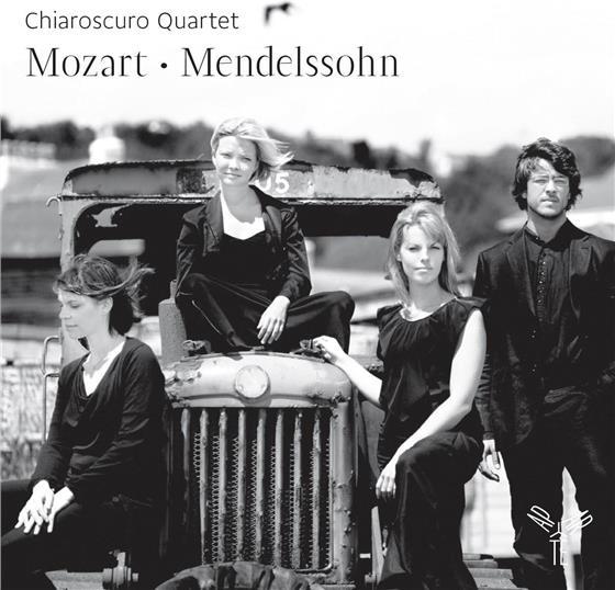 Chiaroscuro Quartet, Wolfgang Amadeus Mozart (1756-1791) & Felix Mendelssohn-Bartholdy (1809-1847) - Mozart - Mendelssohn