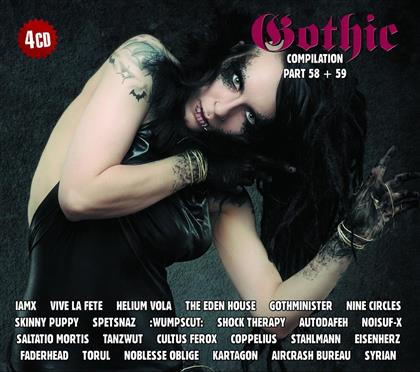 Gothic Compilation - Vol. 58 & 59 (4 CDs)