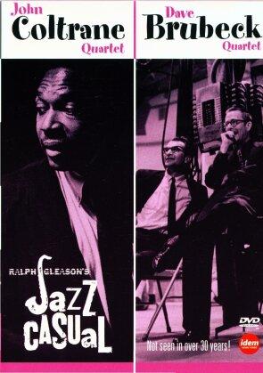 John Coltrane Quartet & Dave Brubeck Quartet - Jazz casual (s/w)
