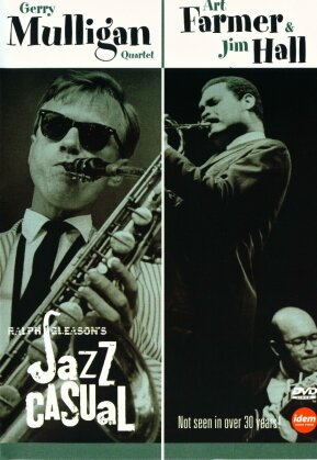 Gerry Mulligan Quartett, Art Farmer & Jim Hall - Jazz casual (s/w)