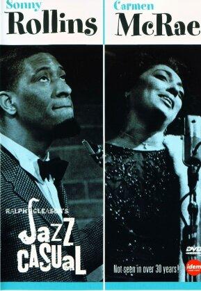Sonny Rollins & Mcrae Carmen - Jazz casual (n/b)