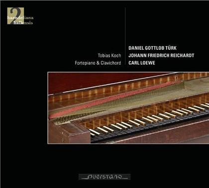 Daniel Gottlob Türk, Daniel Gottlob Türk, Johann Friedrich Reinhardt, Carl Loewe (1796-1869), Gesine Adler, … - Sonatas - Händeliana Hallensis II (2 CDs)