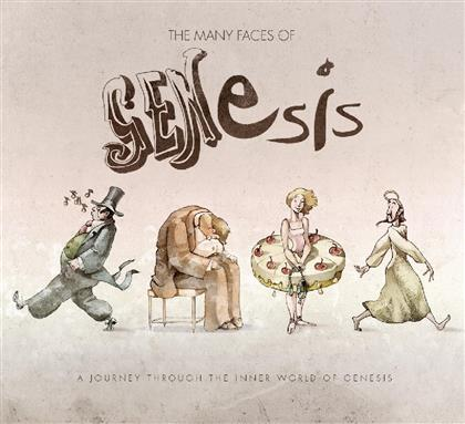 Many Faces Of Genesis (3 CDs)