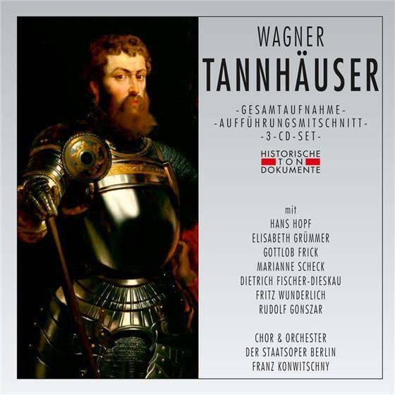 Richard Wagner (1813-1883) - Tannhäuser (3 CDs)