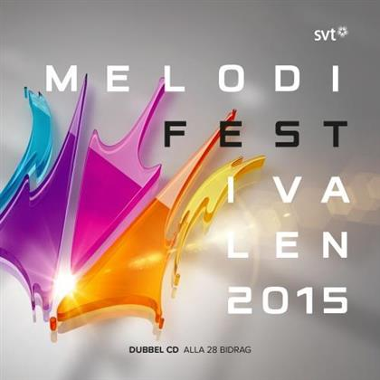 Melodifestivalen - Various 2015 (2 CDs)