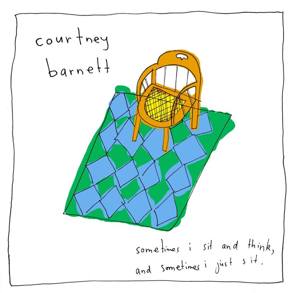 Courtney Barnett - Sometimes I Sit And Think And Sometimes I Just Sit (LP)