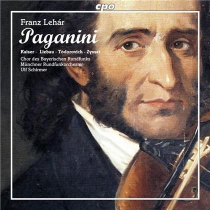 Christiane Kaiser, Eva Liebau, Franz Lehar (1870-1948), Ulf Schirmer, Münchner Rundfunkorchester, … - Paganini (2 CDs)