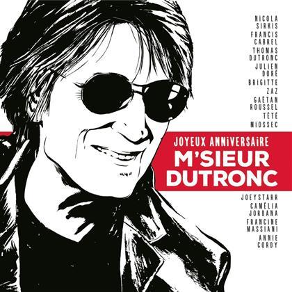 Tribute To Dutronc Jacques & Jacques Dutronc - Joyeux Anniversaire M'sieur Dutronc