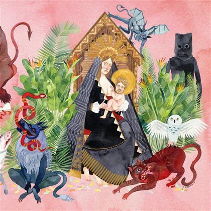 Father John Misty (Josh Tillman/Ex-Fleet Foxes) - I Love You, Honeybear (Colored, 2 LPs + Digital Copy)