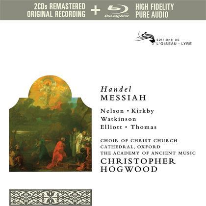 Emma Kirkby, Judith Nelson, Simon Preston, David Thomas, Paul Elliott, … - Messiah - Pure Audio - Only Blu-Ray (Remastered, 3 Blu-rays)