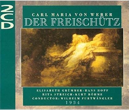 Elisabeth Grümmer, Hans Hopf, Rita Streich, Kurt Böhme, Carl Maria von Weber (1786-1826), … - Freischuetz - 1954 (2 CDs)