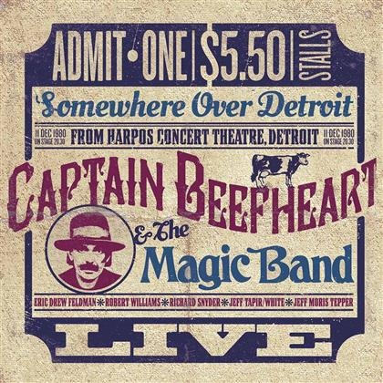 Captain Beefheart - Somewhere Over Detroit (Deluxe Edition, 2 LPs)