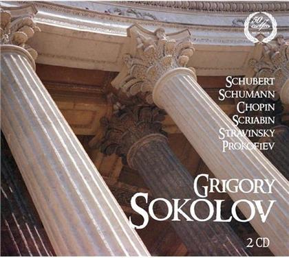 Frédéric Chopin (1810-1849), Franz Schubert (1797-1828), Alexander Scriabin (1872-1915), Igor Strawinsky (1882-1971), Serge Prokofieff (1891-1953), … - Schubert - Schumann - Chopin - Scriabin - Stravinsky - Prokofiev (2 CDs)