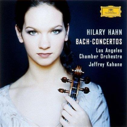 Johann Sebastian Bach (1685-1750), Jeffrey Kahane, Hilary Hahn & Los Angeles Chamber Orchestra - Concertos