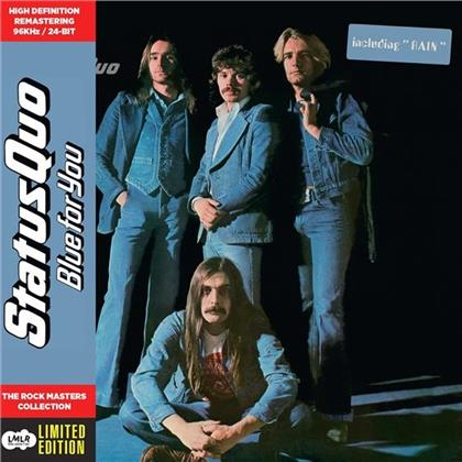 Status Quo - Blue For You - Paper Sleeve - CD Vinyl Replica, Deluxe Edition (Remastered)