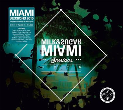 Miami Sessions - Various 2015 (2 CDs)