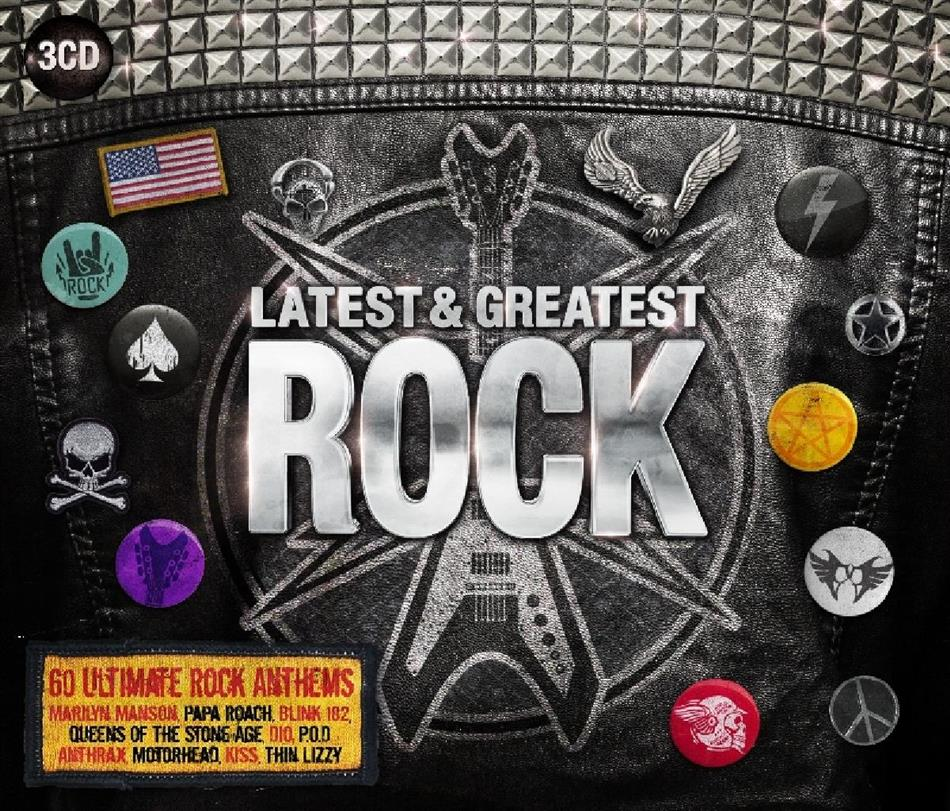 Rock - Latest & Greatest (3 CDs)