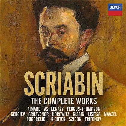 Alexander Scriabin (1872-1915) - Complete Works (18 CDs)