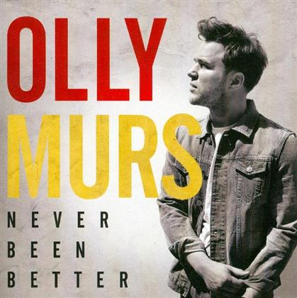 Olly Murs - Never Been Better - US Version 11 Tracks
