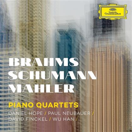 Daniel Hope, Paul Neubauer, David Finckel, Wu Han, Johannes Brahms (1833-1897), … - Piano Quartets