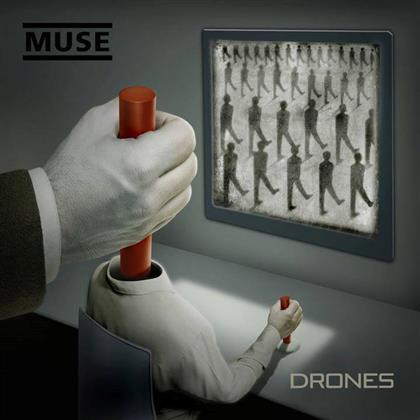 Muse - Drones - Deluxe Edition & 2 Exclusive Art Prints (2 LPs + CD + DVD + Digital Copy)