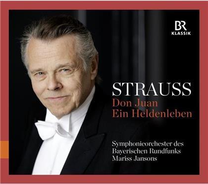 Richard Strauss (1864-1949), Mariss Jansons, Anton Barachovsky & Symphonieorchester des Bayerischen Rundfunks - Don Juan/Heldenleben