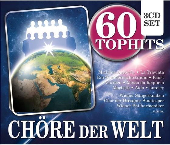 Divers - Chöre Der Welt - 60 Top Hits (3 CDs)