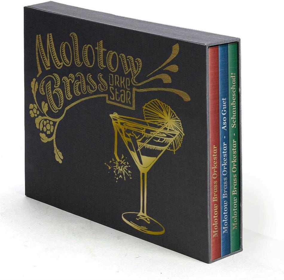 Molotow Brass Orkestar - ---/Asoguet/Schaubeschad! - Box (3 CDs)