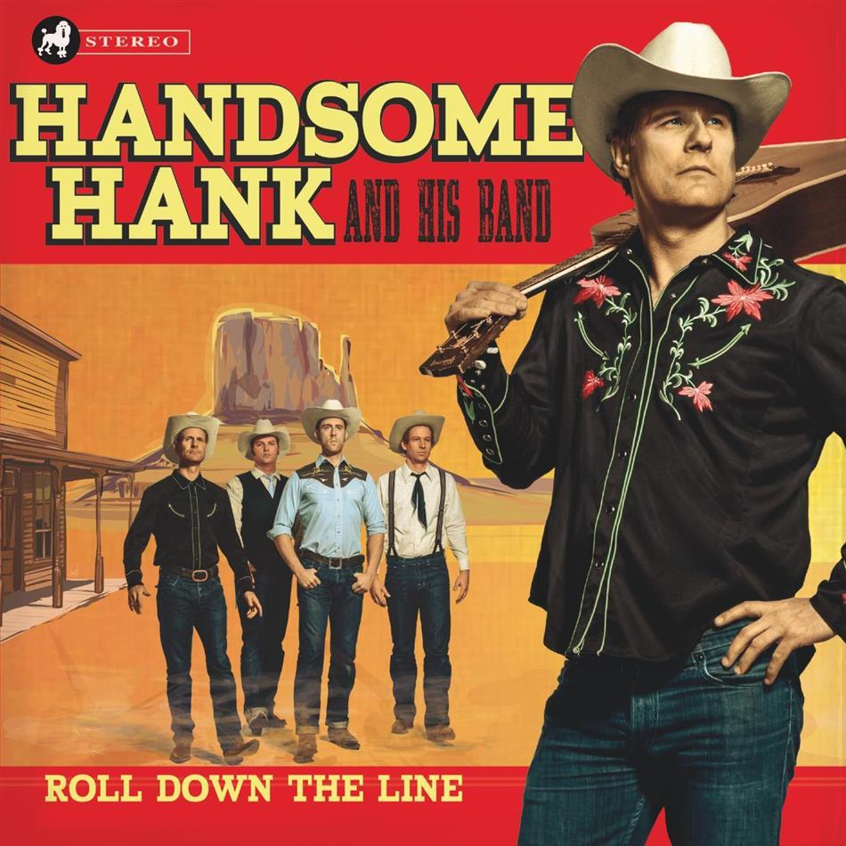 Handsome Hank - Roll Down The Line (LP)